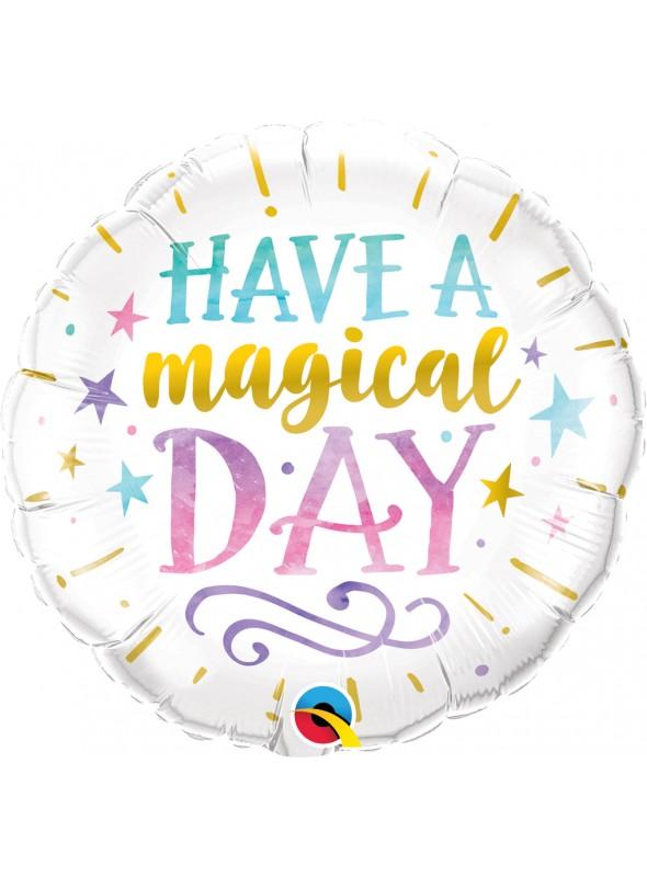 Balão Metalizado Have a Magical Day