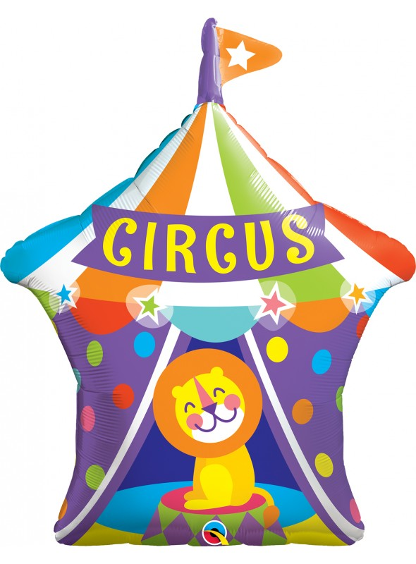 Balão Metalizado Circo