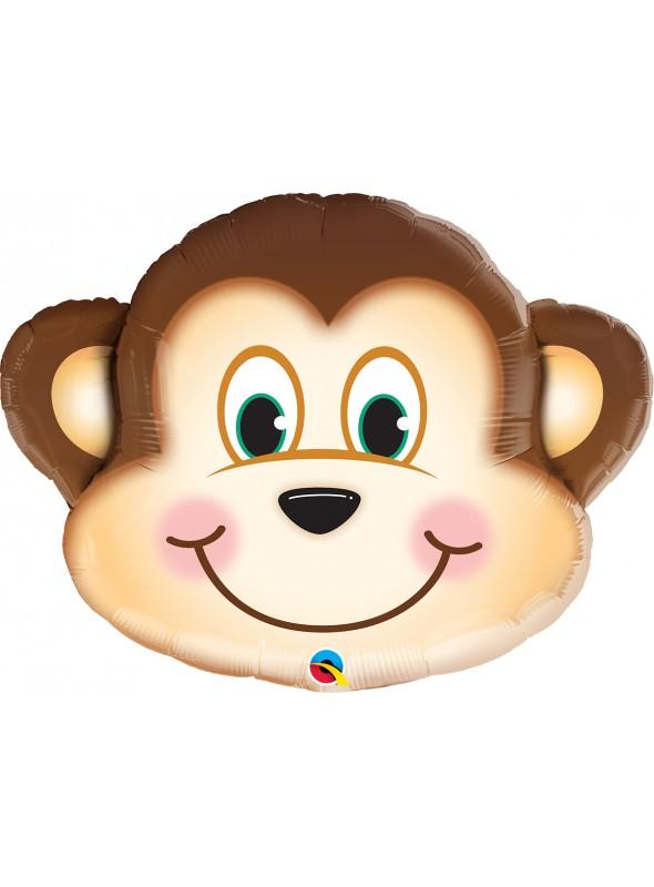 Balão Metalizado Macaco