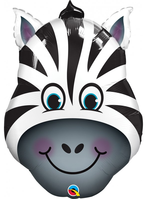 Balão Metalizado Zebra