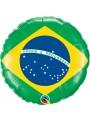 Balão Metalizado Bandeira do Brasil - 1 Unidade