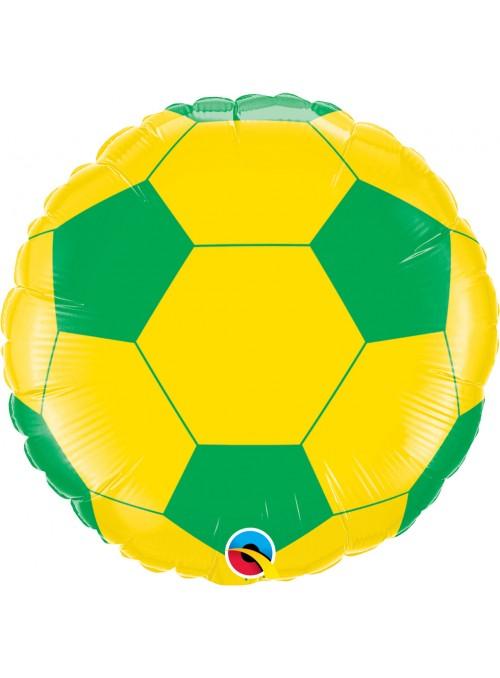 Balão Metalizado Bola Do Brasil - 1 Unidade