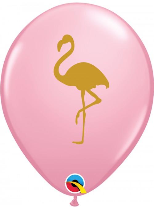 Balões De Látex Rosa Flamingo – 10 unidades
