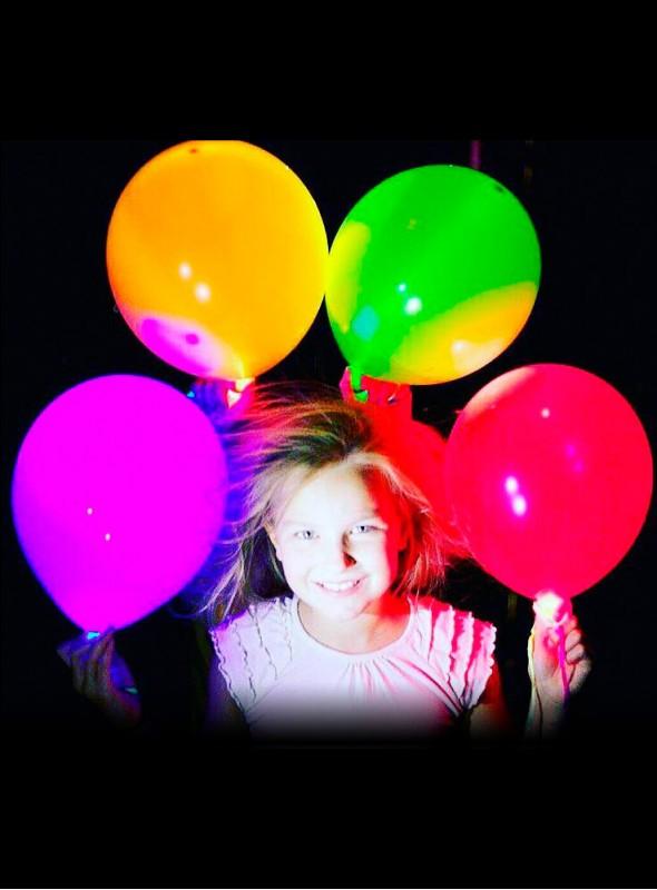 Balões de Led Luminosos - 10 unidades
