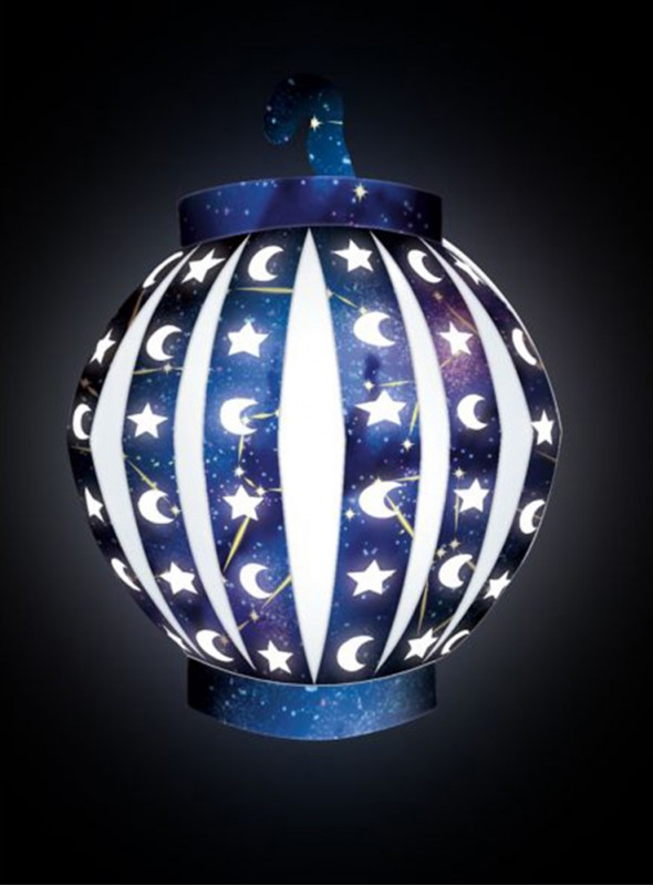Balão de Led Lanterna