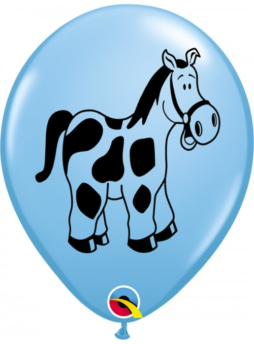 Balões De Látex Animais da Fazenda - 10 Unidades