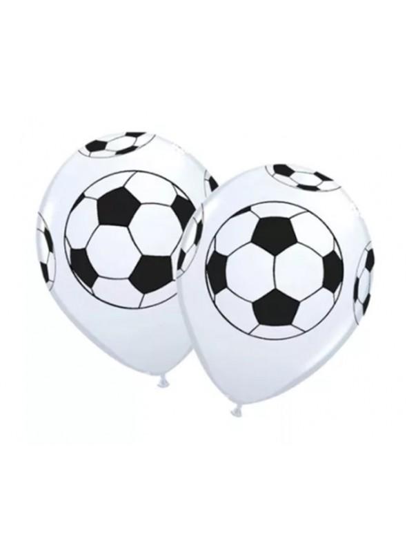 Balões De Látex Bolas de Futebol- 25 Unidades