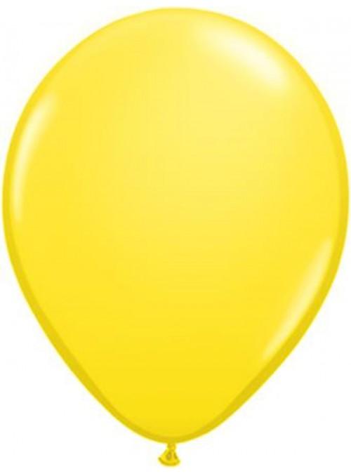Balões De Látex Amarelo 10 polegadas – 50 unidades