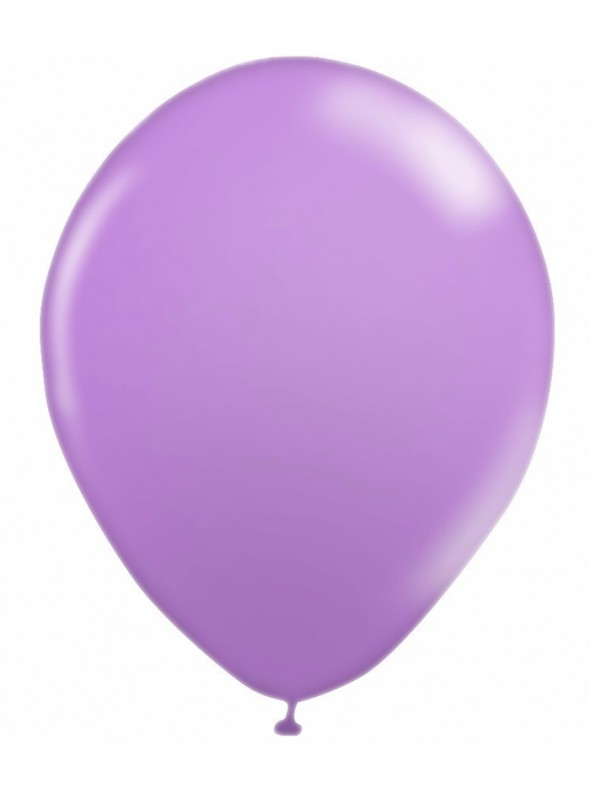 Balões De Látex Lilás 10 polegadas – 50 unidades