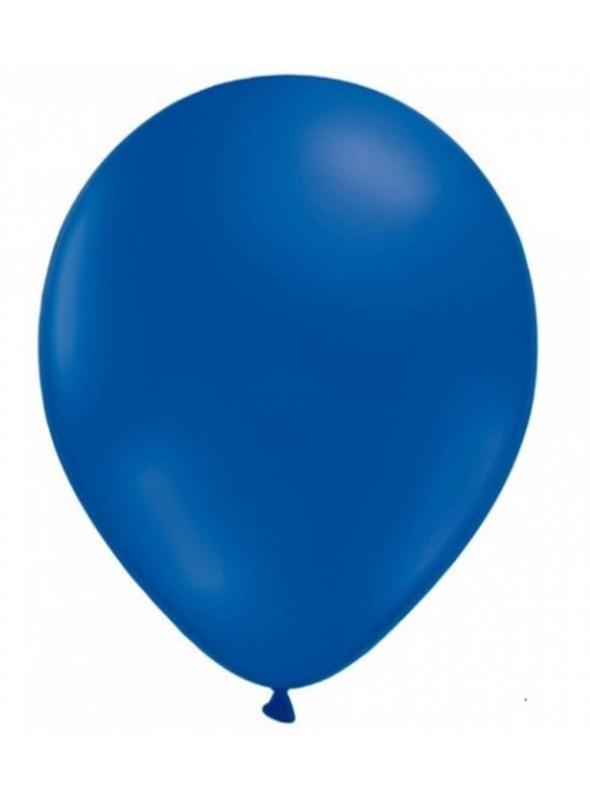 Balões De Látex Azul Royal 10 polegadas – 50 unidades