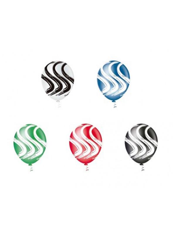 Balões De Látex Estilo Vertical- 25 Unidades