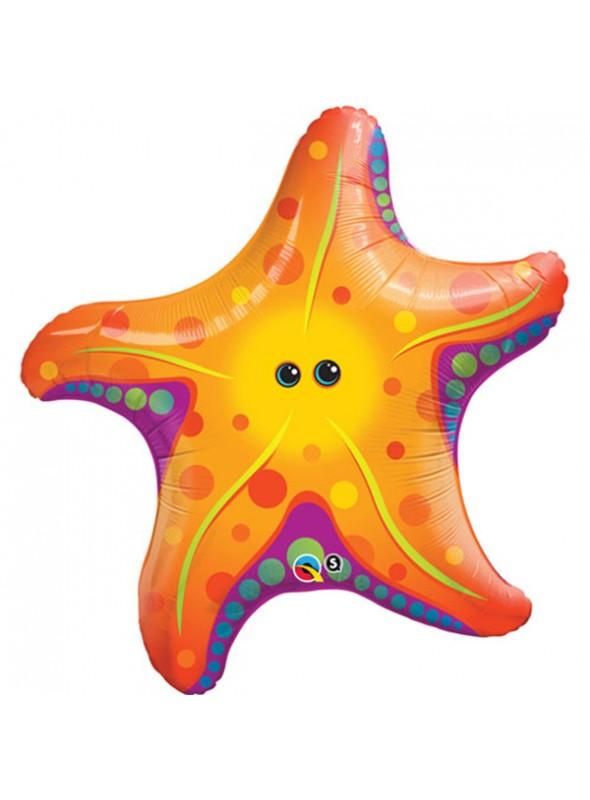 Balão Metalizado Estrela do Mar – 1 unidade