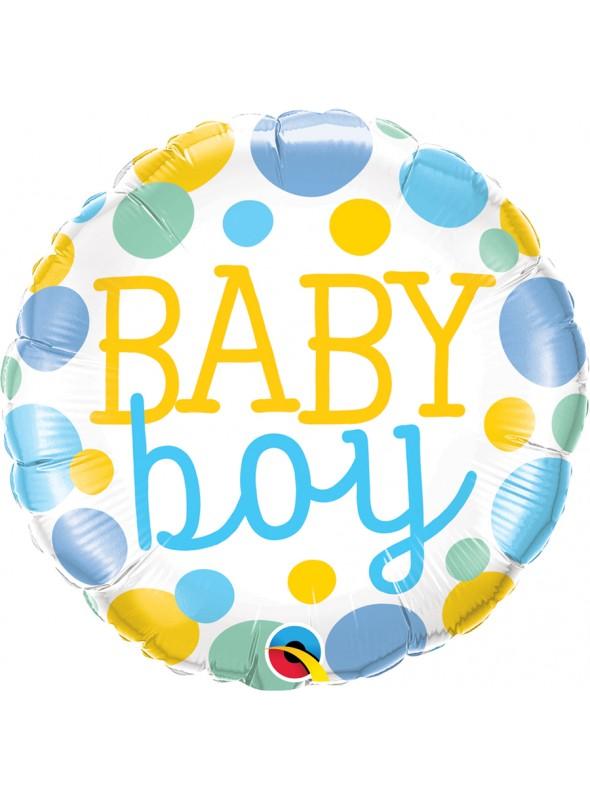 Balão Metalizado Baby Boy - 1 unidade