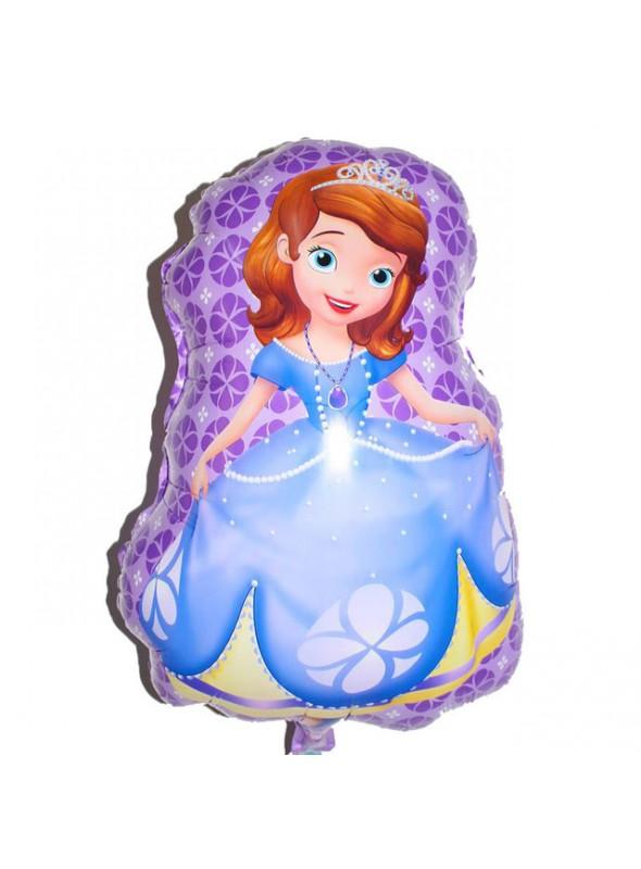 Balão Metalizado Princesa Sofia - 1 Unidade