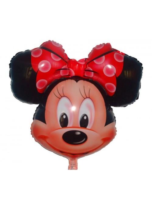 Balão Metalizado Minnie Vermelho - 1 Unidade