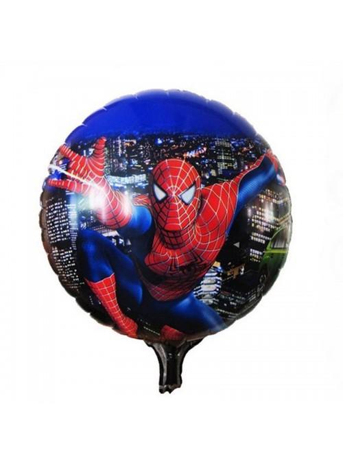 Balão Metalizado Homem Aranha- 1 Unidade