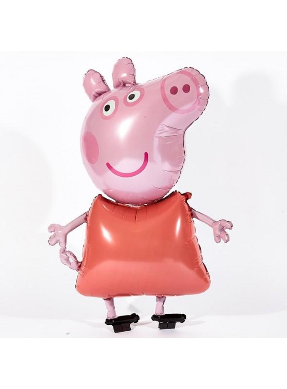 Balão Metalizado Peppa Pig- 1 Unidade
