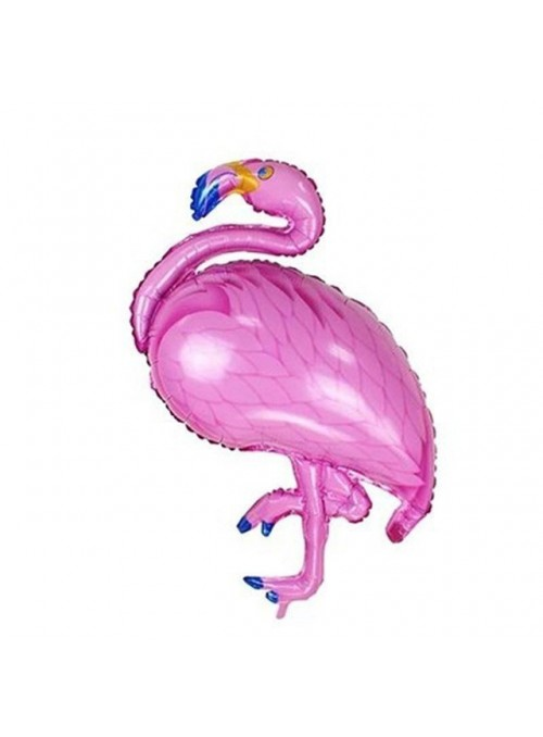 Balão Metalizado Flamingo - 1 Unidade
