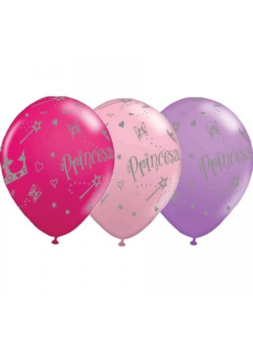 Balões de Látex Princesas - 25 Unidades