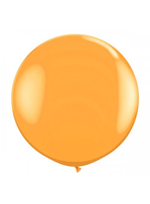 Balão de Látex Gigante Laranja 25 polegadas – 1 unidade