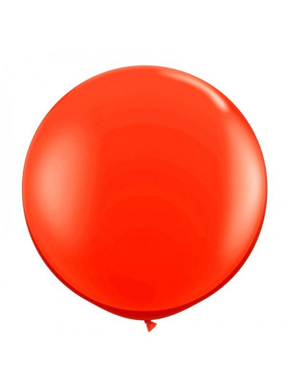 Balão de Látex Gigante Vermelho 25 polegadas – 1 unidade