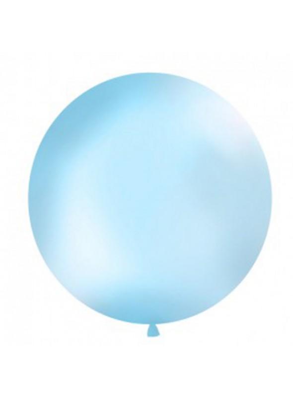 Balão de Látex Gigante Azul Claro 25 polegadas – 1 unidade