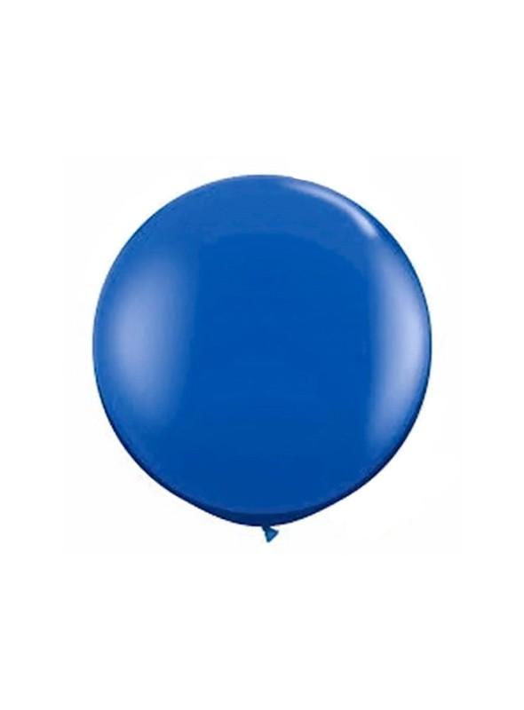 Balão de Látex Gigante Azul Escuro 25 polegadas – 1 unidade