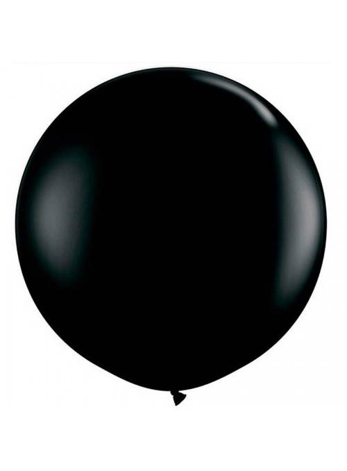 Balão de Látex Gigante Preto 25 polegadas – 1 unidade
