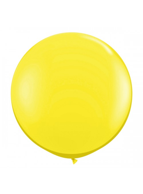 Balão de Látex Gigante Amarelo 40 polegadas – 1 unidade