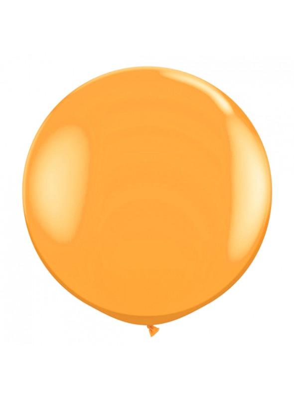 Balão de Látex Gigante Laranja 40 polegadas – 1 unidade
