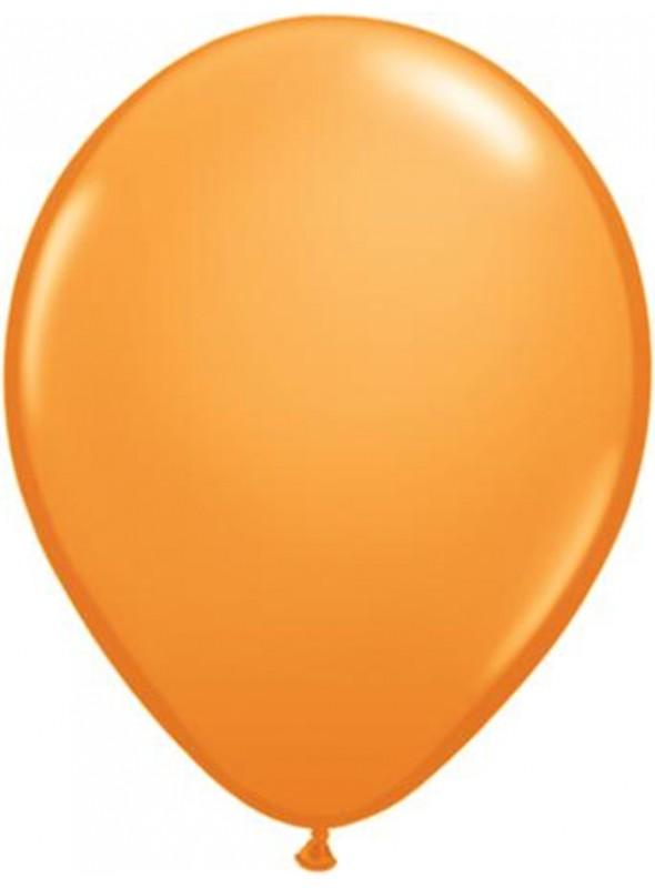 Balões De Látex Laranja 7 polegadas – 50 unidades