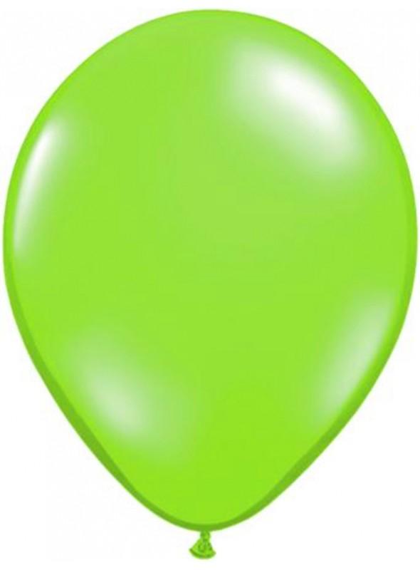 Balões De Látex Verde Limão 7 polegadas – 50 unidades