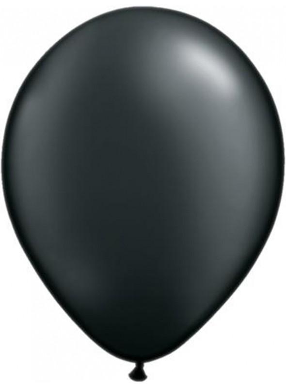Balões De Látex Preto 7 polegadas – 50 unidades