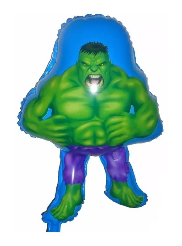 Balão Metalizado Corpo do Hulk - 1 Unidade