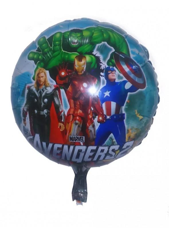 Balão Metalizado Vingadores - 1 Unidade