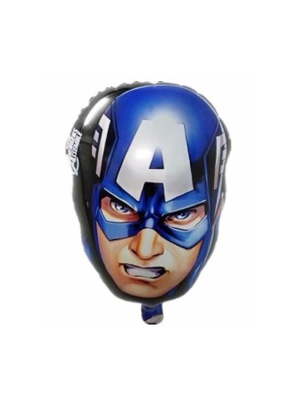 Balão Metalizado Capitão América - 1 Unidade