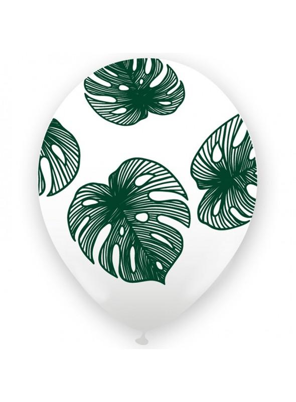 Balões de Látex Folhagem – 25 unidades