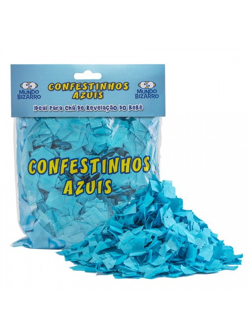 Confetes Azul