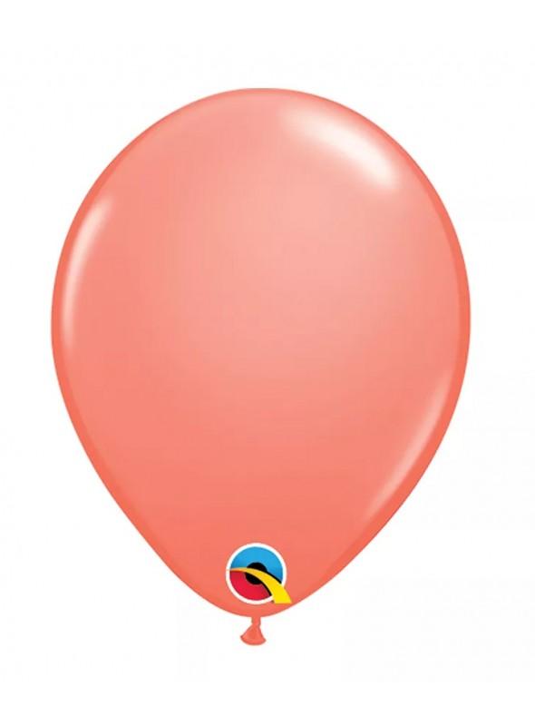 Balões de Látex Coral 11 Polegadas – 10 unidades