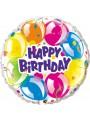 Balão Metalizado Happy Birthday Balões – 1 unidade